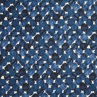 Kokka Oversized Irregular Circles Fabric, Navy