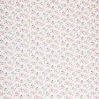 Viscount Textiles Corsage Floral Print Dobby Fabric, Pink