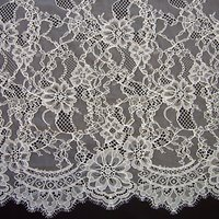 Carrington Fabrics Rebecca Bridal Lace, Ivory