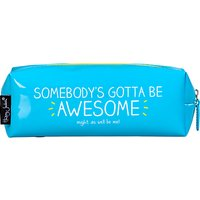 Happy Jackson Awesome Pencil Case, Blue
