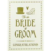 Quire Collections Bride and Groom Wedding Card