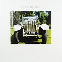 Mint Wedding Day Greeting Card