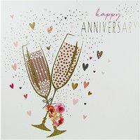 Portfolio Champagne Happy Anniversairy Card
