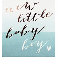 Pigment Baby Boy Greeting Card
