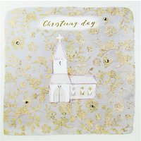 Hammond Gower Christening Greeting Card