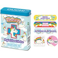 NPW Childrens Unicorn Ouch Plasters, Pack of 24