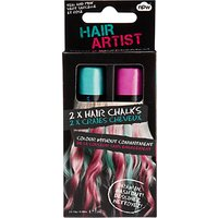 NPW Hair Artist Hair Chalks, Pack of 2