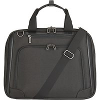 John Lewis Raise 17 Laptop Bag, Black