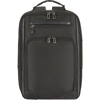 John Lewis Expanding 15 Laptop Backpack, Black
