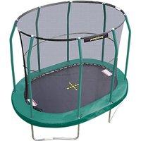 JumpKing 7 x 10ft Oval Trampoline