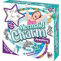 Craft Box Make Your Own Mermaid Charm Jewellery Set