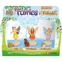 My Fairy Garden Fairies & Friends Figurine Pack, Pack of 3