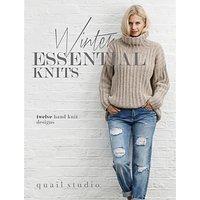 Rowan Winter Essential Knits Knitting Pattern Book by Quail Studio