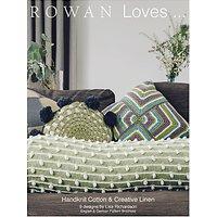 Rowan Loves 6 Handknit Cotton And Creative Linen Knitting Pattern Brochure