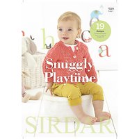Sirdar Snuggly Playtime Baby Knitting Pattern Brochure, 509