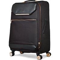 Ted Baker Soft Albany 71cm 4-Wheel Suitcase, Black