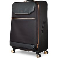Ted Baker Soft Albany 83cm 4-Wheel Suitcase, Black