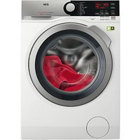 AEG L8FEE965R Freestanding Washing Machine, 9kg Load, A+++ Energy Rating, 1600rpm Spin, White