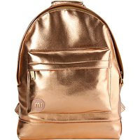 Mi-Pac Metallics Backpack, Rose Gold