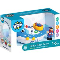 WOW Toys Police Boat Perry.