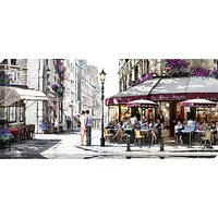 Richard Macneil - Cafe In Paris Canvas Print, 135 x 60cm