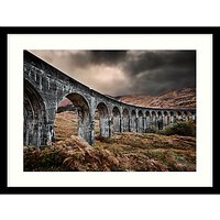 Matt Wilkinson - Glen Finnan Viaduct Framed Print, 84 x 64cm