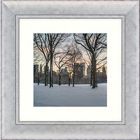 John Anderson - After The Snow Storm Framed Print, 53 x 53cm