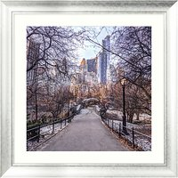 Assaf Frank - A Fresh Start New York Framed Print, 90 x 90cm