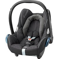 Maxi-Cosi CabrioFix Group 0+ Baby Car Seat, Black Crystal