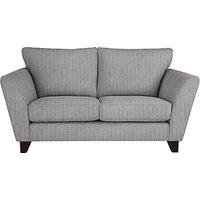 John Lewis Oslo Small 2 Seater Sofa, Dark Leg, Porto Blue Grey