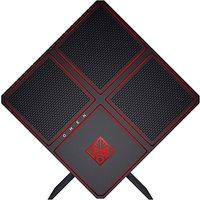 HP OMEN 900-187na Gaming Desktop PC, Intel Core i7, 16GB RAM, 256GB SSD, NVIDIA GTX 1080, Jet Black