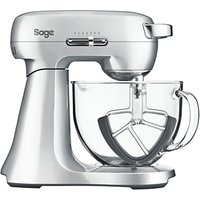Sage Scraper Mixer, Brushed Metal