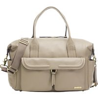 Storksak Charlotte Leather Changing Bag, Clay