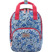 Cath Kids Childrens Welham Flowers Medium Rucksack, Cream/Blue
