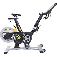 ProForm Tour De France Pro 5.0 Indoor Studio Bike, Black/White/Yellow