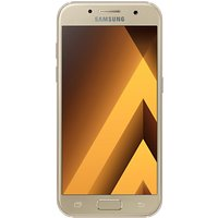 Samsung Galaxy A3 Smartphone (2017), Android, 4.7, 4G LTE, SIM Free, 16GB