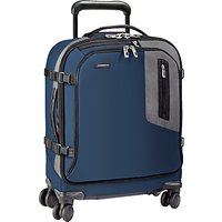 Briggs & Riley BRX Explore International Wide-Body Spinner Cabin Case, Blue
