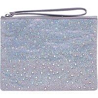Carvela Gaye Clutch Bag, Silver