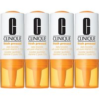 Clinique Fresh Pressed Daily Booster with Pure Vitamin C 10%, 4 x 10ml