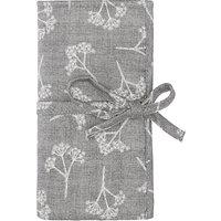John Lewis Heartwood Print Crochet Roll and Hooks, Grey
