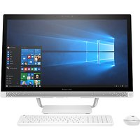 HP Pavilion 27-a259na All-in-One PC Desktop, Intel Core i5, 16GB RAM, 2TB, NVIDIA 930MX, 27 Full HD, Blizzard White
