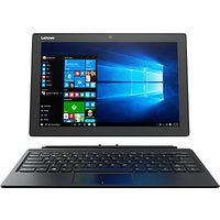 Lenovo Miix 510 Tablet with Detachable Keyboard and Active Pen, Intel Core i7, 8GB RAM, 256GB SSD, 12.2 Touch Screen, Wi-Fi, Silver