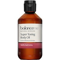 Balance Me Super Toning Body Oil, 200ml