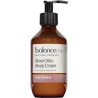 Balance Me Rose Otto Body Cream, 280ml