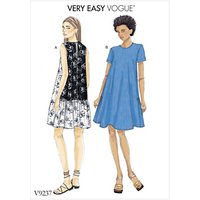 Vogue Womens Dress Sewing Pattern, 9237