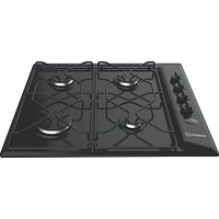 Indesit Aria PAA642IBK Built-In Gas Hob, Black
