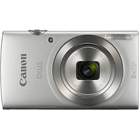 Canon IXUS 185 Digital Camera, HD 720p, 20.0MP, 8x Optical Zoom, 16x Zoom Plus, 2.7 LCD Screen with Wrist Strap