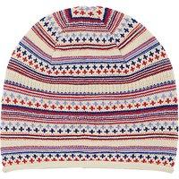 John Lewis Textured Pattern Beanie Hat