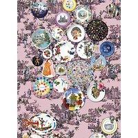 Christian Lacroix Folie Wallpaper Panel Set, Myrtille PCL1002/01