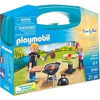 Playmobil Summer Fun Backyard Barbecue Carry Case